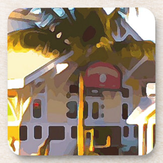 Yellow Store in Key West Coaster