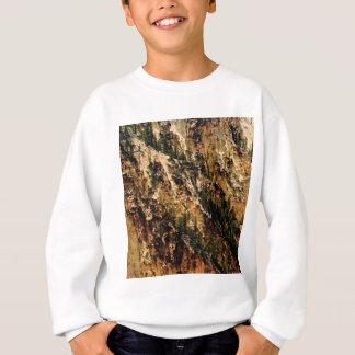 yellow streak of landscape sweatshirt