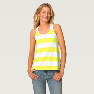 Yellow Stripe Singlet