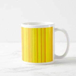 Yellow Striped Mug