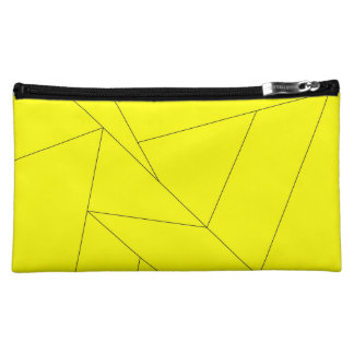 yellow stripes clutch