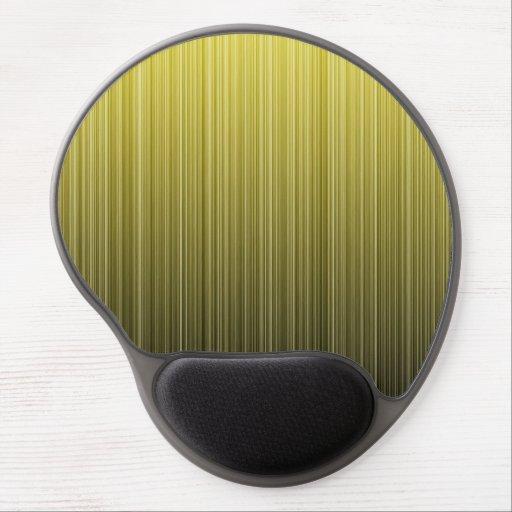 Yellow Stripes Gel Mouse Mat
