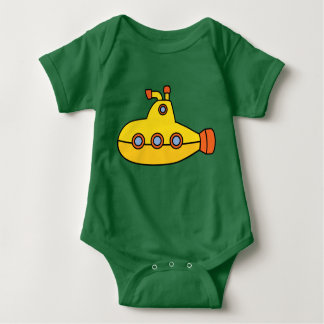 Yellow Submarine Baby Bodysuit