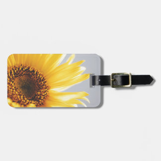 Yellow Summer Sunflower Luggage Tag