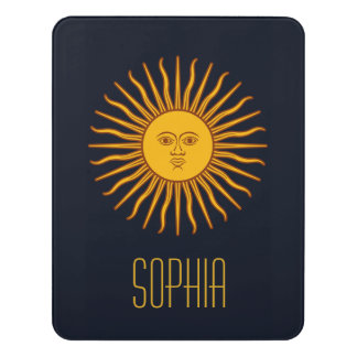 Yellow Sun Astrology Planet Name Blue Door Sign