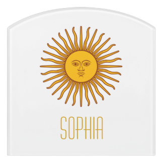 Yellow Sun Astrology Planet Name White Door Sign