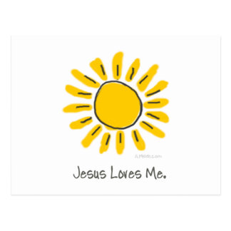 Yellow Sun Postcard