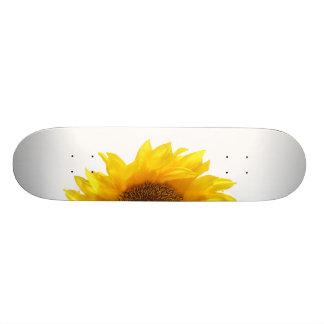 yellow sunflower 21.3 cm mini skateboard deck