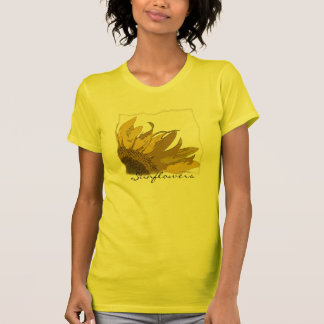 Yellow Sunflower Corner T-Shirt