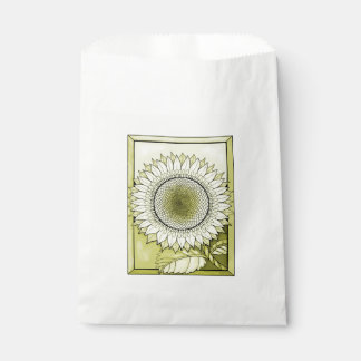 Yellow Sunflower Favour Bags