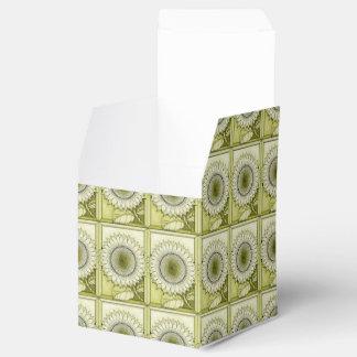 Yellow Sunflower Favour Box