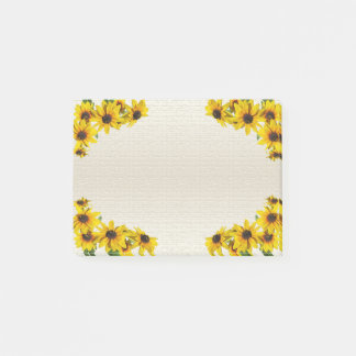 Yellow Sunflower Frame  Post-it® Notes