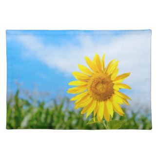 Yellow Sunflower in the Nature Placemat