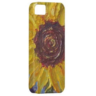 Yellow Sunflower iPhone 5 Case