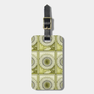 Yellow Sunflower Luggage Tag