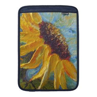 Yellow Sunflower MacBook Sleeve