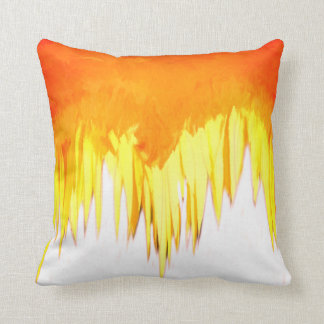 Yellow Sunflower Motif Cushion
