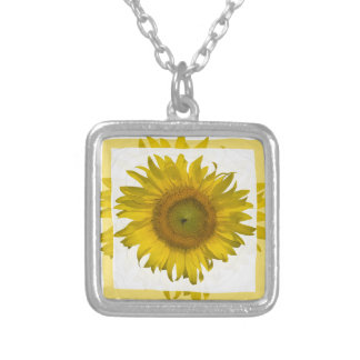 Yellow Sunflower Necklace