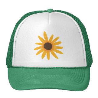 Yellow Sunflower Painting Tats Cap