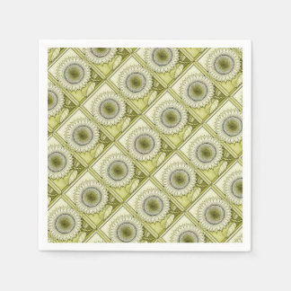 Yellow Sunflower Paper Serviettes
