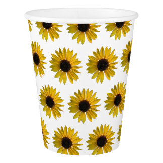 Yellow Sunflower Pattern
