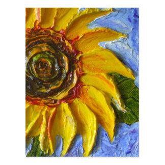 Yellow Sunflower Postcard