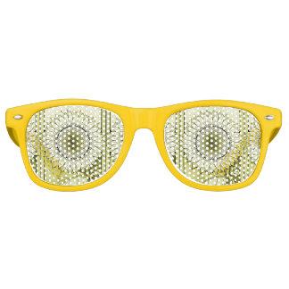 Yellow Sunflower Retro Sunglasses