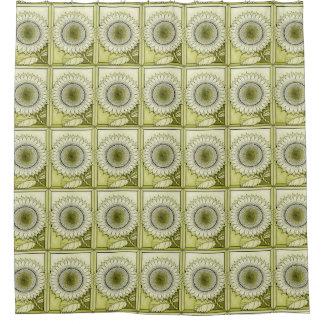 Yellow Sunflower Shower Curtain