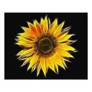 Yellow Sunflower Sun Flower Plant 11.5 Cm X 14 Cm Flyer