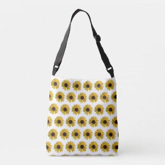 Yellow Sunflowers Crossbody Bag