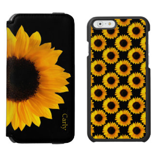 Yellow Sunflowers iPhone 6 Wallet Case Incipio Watson™ iPhone 6 Wallet Case