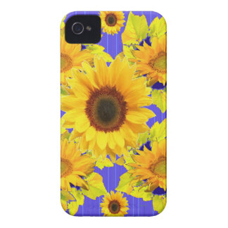 Yellow Sunflowers Lilac Pattern  gifts iPhone 4 Case-Mate Cases