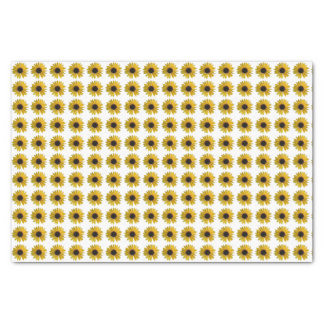 Yellow Sunflowers Tissue Paper