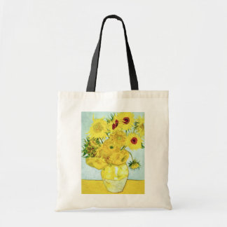 yellow Sunflowers, Vincent van Gogh flowers Tote Bags
