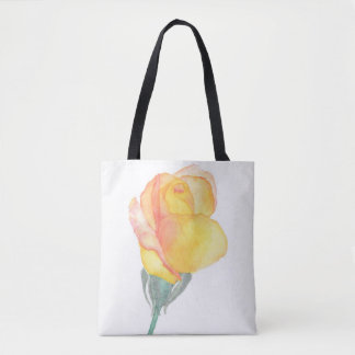 Yellow Sunset Rose Bag