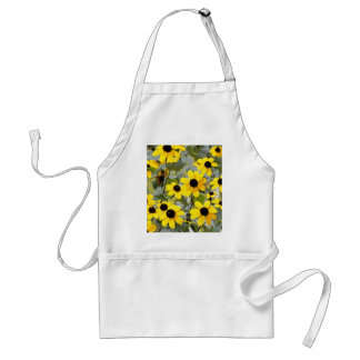 Yellow Sunshine Wildflowers Flowers Aprons