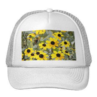 Yellow Sunshine Wildflowers Flowers Hats