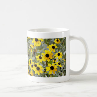 Yellow Sunshine Wildflowers Flowers Coffee Mug