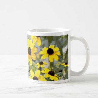 Yellow Sunshine Wildflowers Flowers Mug