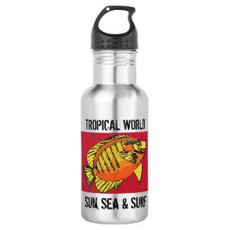Yellow surf (1517) 532 ml water bottle