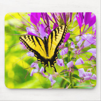 Yellow Swallowtail Butterfly Mouse Pad