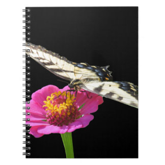 Yellow Swallowtail Spiral Notebooks