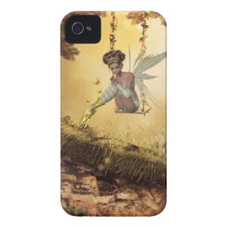 Yellow Swinging Fairy Blackberry Curve Case