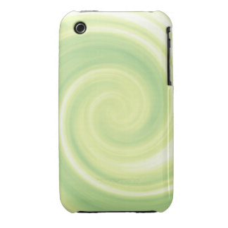 Yellow Swirl iPhone 3 Case-Mate Case