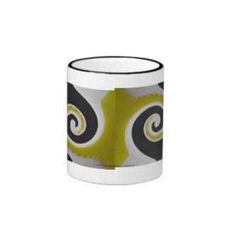 Yellow Swirl mug