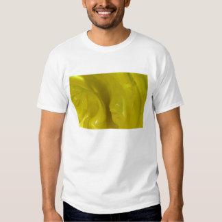 Yellow Swirls Tee Shirts