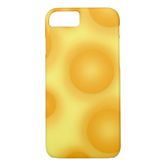 Yellow Swiss Cheese iPhone 8/7 Case