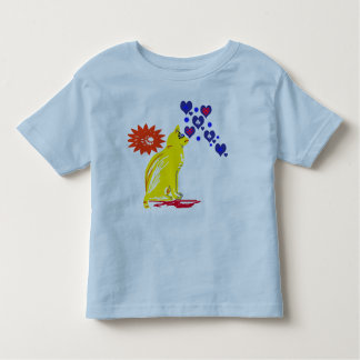 Yellow sword and heart toddler T-Shirt