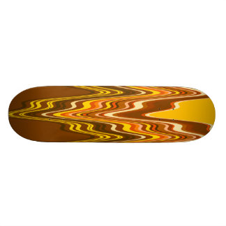 Yellow/Tan Merge Skateboard