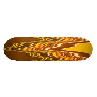 Yellow/Tan Merge Skateboard